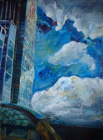 Canary Wharf Clouds