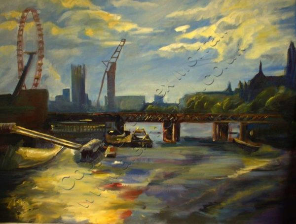 Canary Wharf Scaffolding